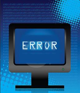 ordenador personal error