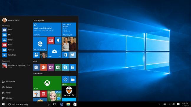 cómo arreglar barra de título de Windows 10