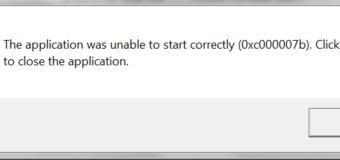 Cómo corregir 0xc00007b / 0xc000007b error (Todos los juegos de PC y software) en Windows 7, 8 y 8.1