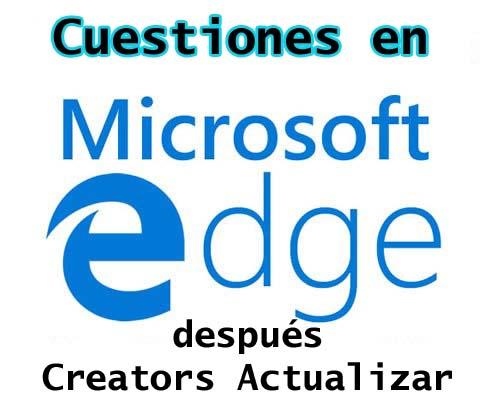 Microsoft Edge Browser atascado