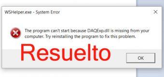 """[Fijo] Cómo reparar """"Daqexp.dll falta"""" ¿Error en Windows 10?"""