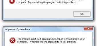 Cómo arreglar fácilmente cualquier error DLL en Windows 8, 8.1