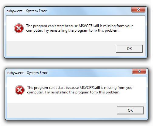 herramienta de eliminación de errores de DLL