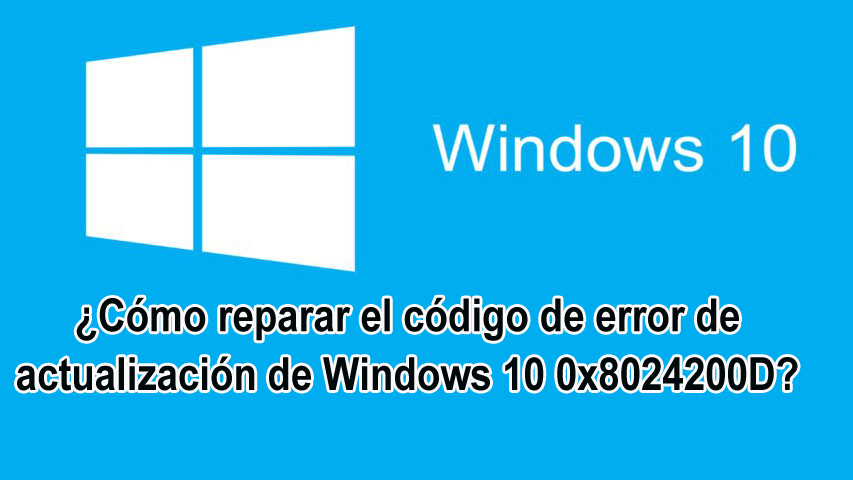 Windows 10 0x8024200D