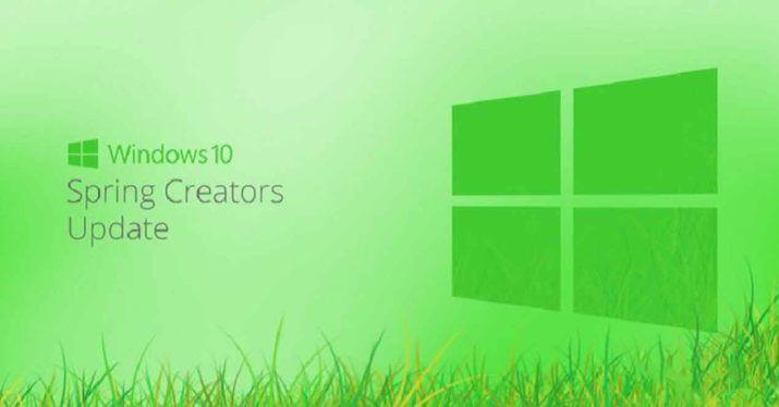 la fecha de lanzamiento de Spring Creators Update