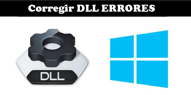 reparar los errores DLL