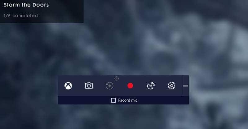 desactivar la barra de juegos